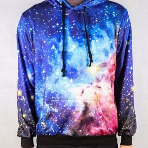 Other - 3D Unisex Galaxy Nebula Pullover Hoodie